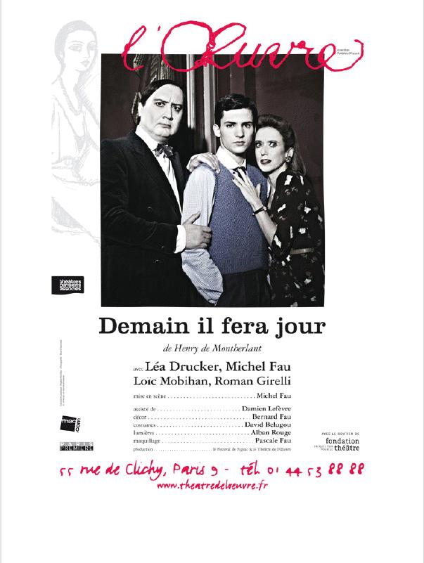 Demain il fera jour : Michel Fau se plonge dans Montherlant et l'Après guerre au Théâtre de l'Oeuvre