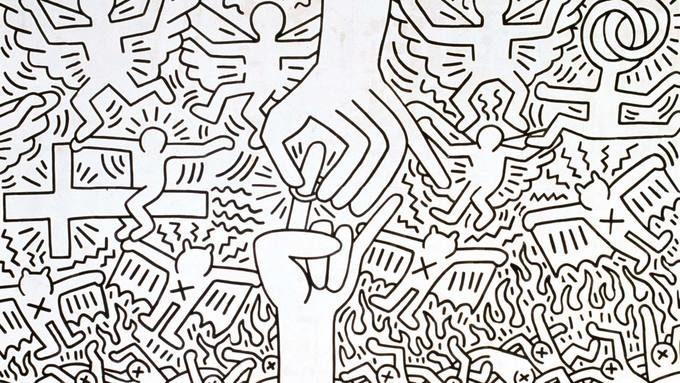 Keith Haring «big size» au Cent-Quatre