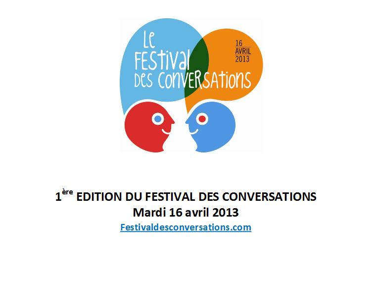 Le Festival des conversations lance une offensive contre le manque d'écoute, le 16 avril