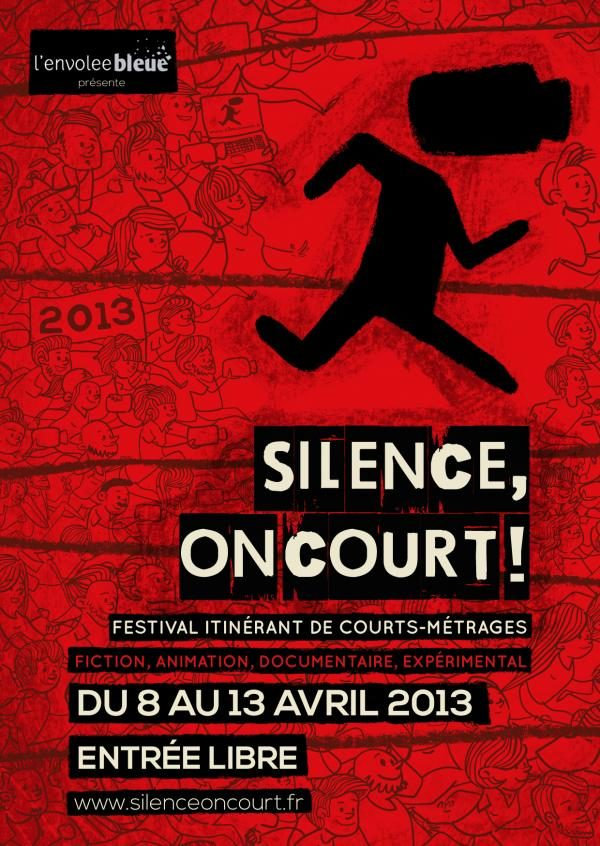 Le festival de courts-métrages Silence, on court ! commence lundi !