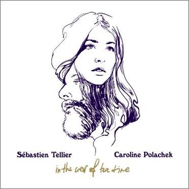 In The Crew Of Tea Time de Sébastien Tellier et Caroline Polachek sort en 45t demain pour le Disquaire Day