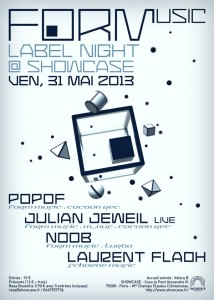 FORM Showcase 31 mai