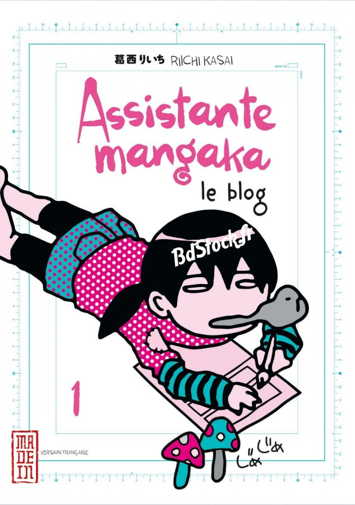 Journal d'une assistante mangaka : le blog tome 1