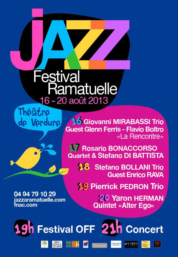 Jazz à Ramatuelle : Yaron Hermann, Giovanni Mirabassi, Pierrick Pedron et bien d'autres au théâtre de verdure