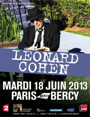 [Live report] Leonard Cohen à Bercy