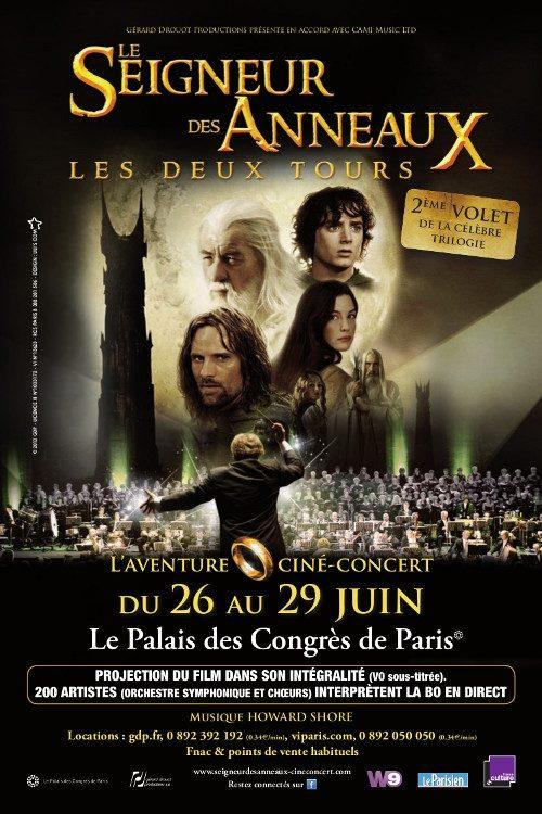 Le Seigneur des Anneaux, Les Deux Tours, projecté au Palais des Congrès pour un ciné-concert exceptionnel
