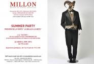 Millon vente invitation