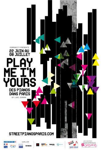 Des pianos colorés à découvrir dans Paris jusqu'au 9 juillet
