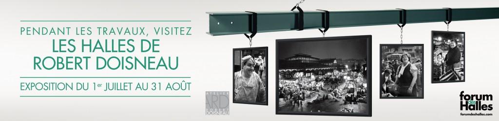 L'exposition «Les Halles de Robert Doisneau» nous transporte dans le ventre de Paris du 1er juillet au 31 août 2013
