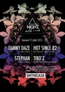 a night 19 juillet _showcase