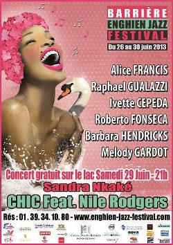 [Live Report'] : Barrière Enghien Jazz festival, jazz cubain d'Ivette Cepeda et swing métissé de Roberto Fonseca
