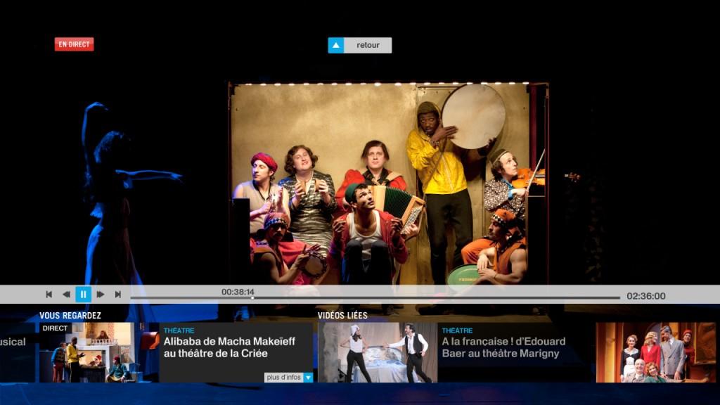 Lancement de Culturebox, la plateforme numérique culturelle de France Télévisions
