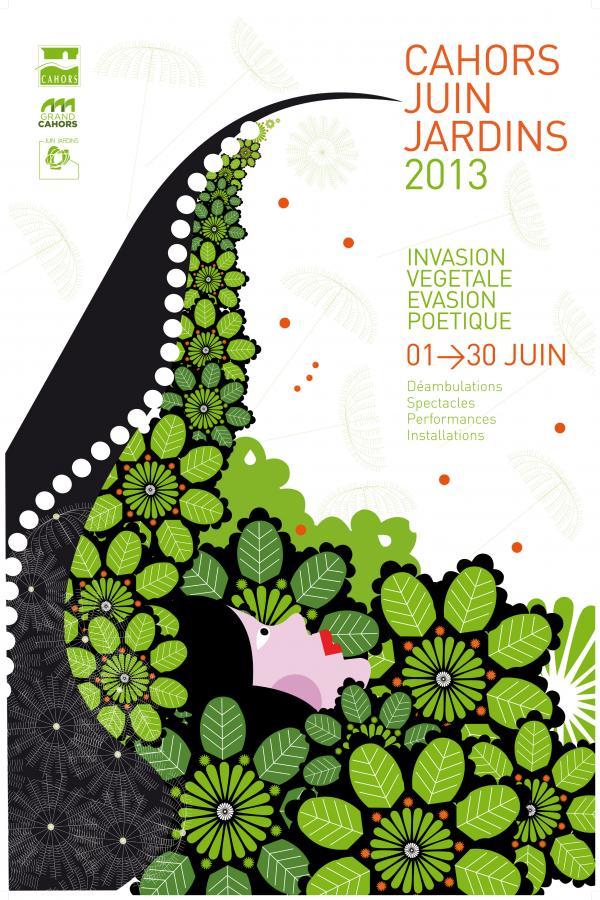 Le festival juin jardins cahors d ambulations for Cahors jardin juin 2015