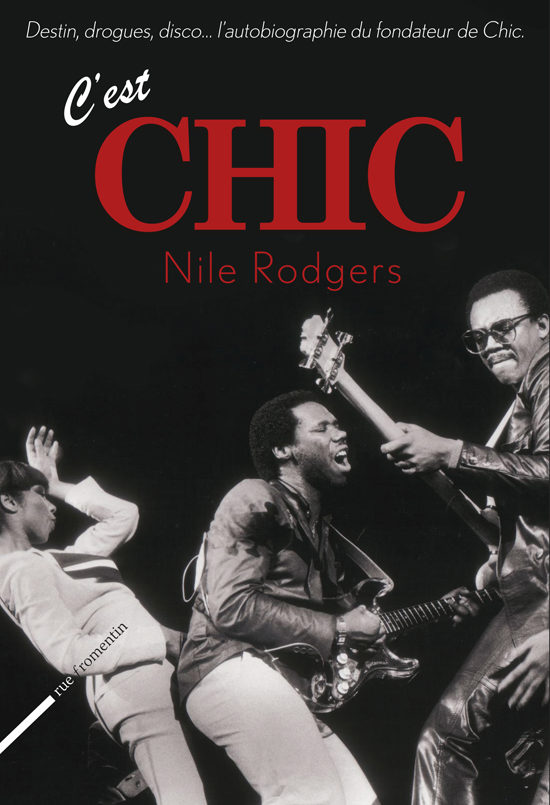 Dédicace Nile Rodgers à la FNAC Saint-Lazare le 25 juin
