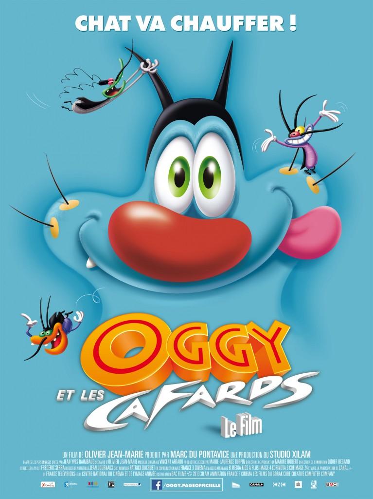 La Lutte entre Oggy et les Cafards se poursuit au cinéma le 7 août 2013