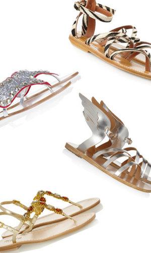 La sélection du mardi : sandales idéales et joyaux de pieds
