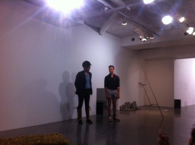 Vincent Thomasset présente Les Protragronistes au Plateau/ FRAC