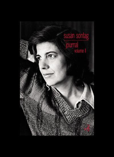 Le volume 2 du journal de Susan Sontag disponible chez Christian Bourgois