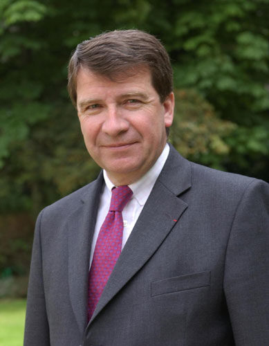 Xavier Darcos à l'Académie française