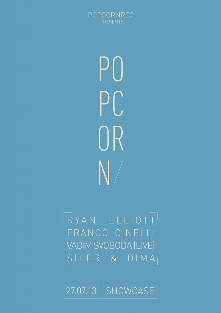 Gagnez 10×2 places pour la soirée Popcorns Records au Showcase, le 27.07