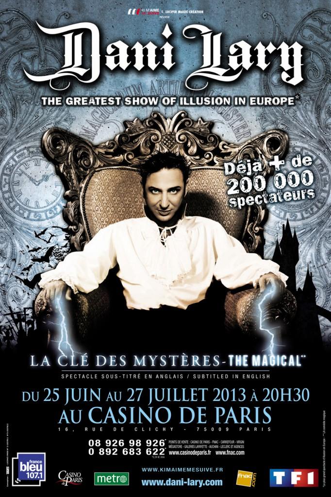 Spectacle magie casino de paris