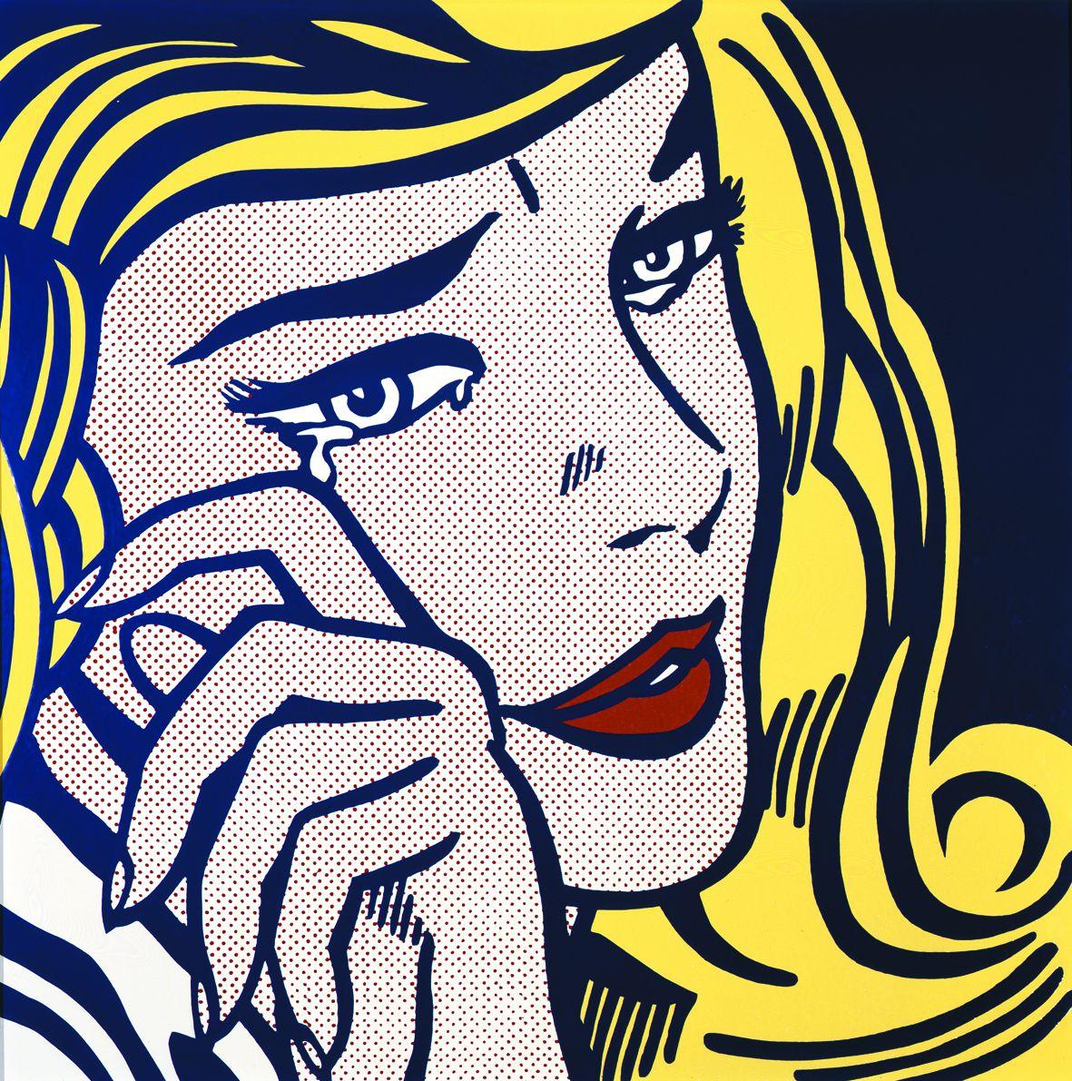 Roy lichtenstein au centre pompidou du common art au pop art toutelacultureroy lichtenstein - Roy lichtenstein pop art ...
