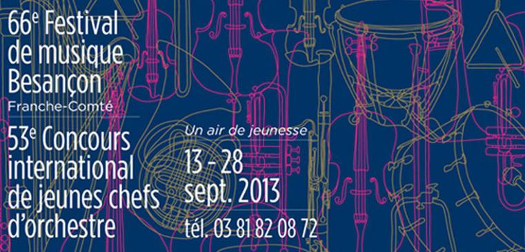 Annonce 66 me festival de musique de besan on franche - Concours international de musique de chambre de lyon ...