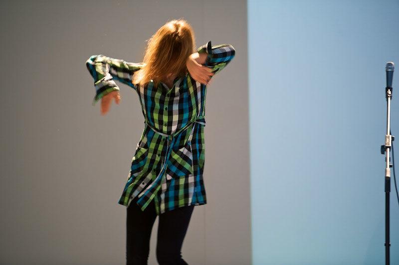 Non-tutta, l'anti-performance d'Anne Tismer