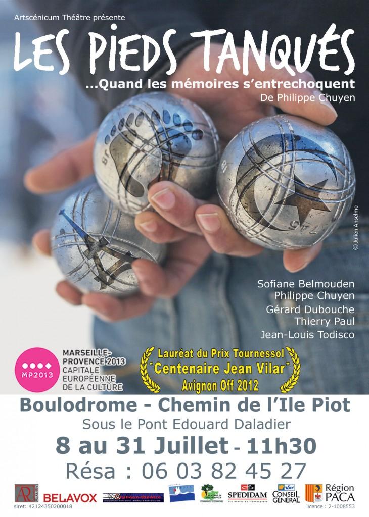 Gagnez 10×2 places pour la pièce «Les Pieds Tanqués» du 22 au 30 juillet au Boulodrome d'Avignon