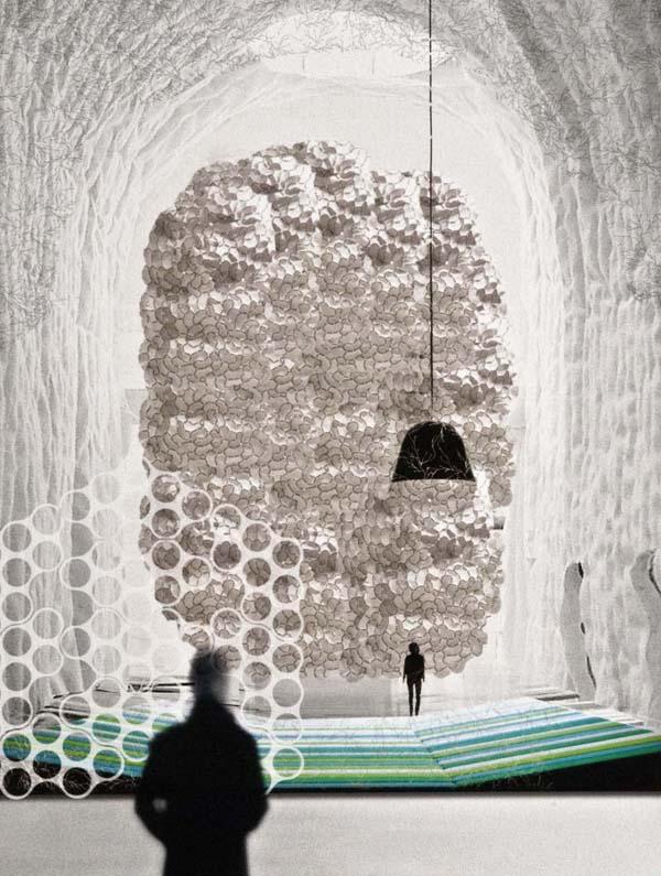 les fr res bouroullec aux arts d coratifs toutelacultureles fr res bouroullec aux arts d coratifs. Black Bedroom Furniture Sets. Home Design Ideas