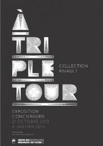 a triple tour expo pinault affiche
