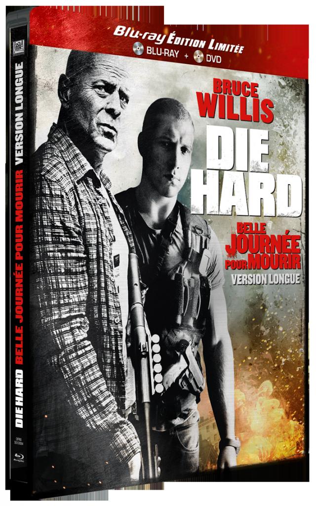 Die Hard : Belle journée pour mourir, Bruce willis casse-cou déjà en dvd et Blu-ray