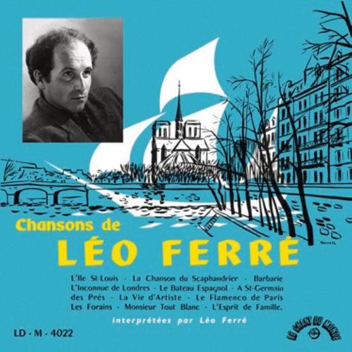 Gagnez 5 rééditions à l'identique du premier vinyle de Léo Ferré par Le Chant du Monde
