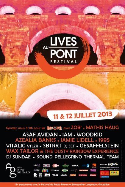 Asaf Avidan, Vitalic ou encore Woodkid danseront sur le pont… du Gard