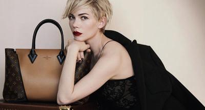 Michelle Williams, nouvelle muse pour Louis Vuitton