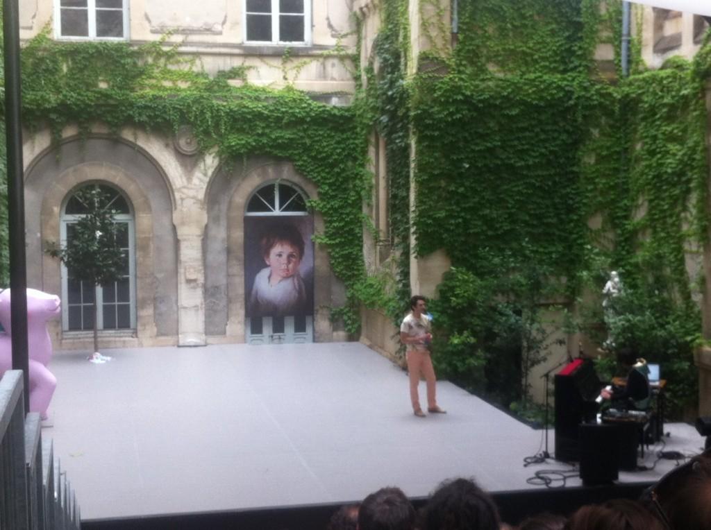 [Avignon] Nicolas Maury et Sarah Chaumette aux Sujets à Vif