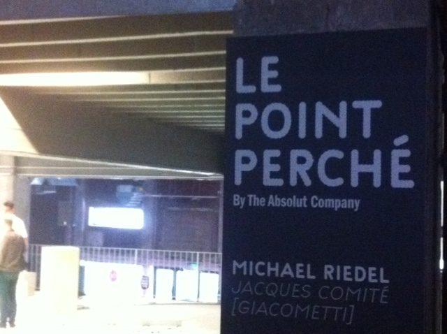 Un nouvel espace au Palais de Tokyo : le point perché by The Absolut Company