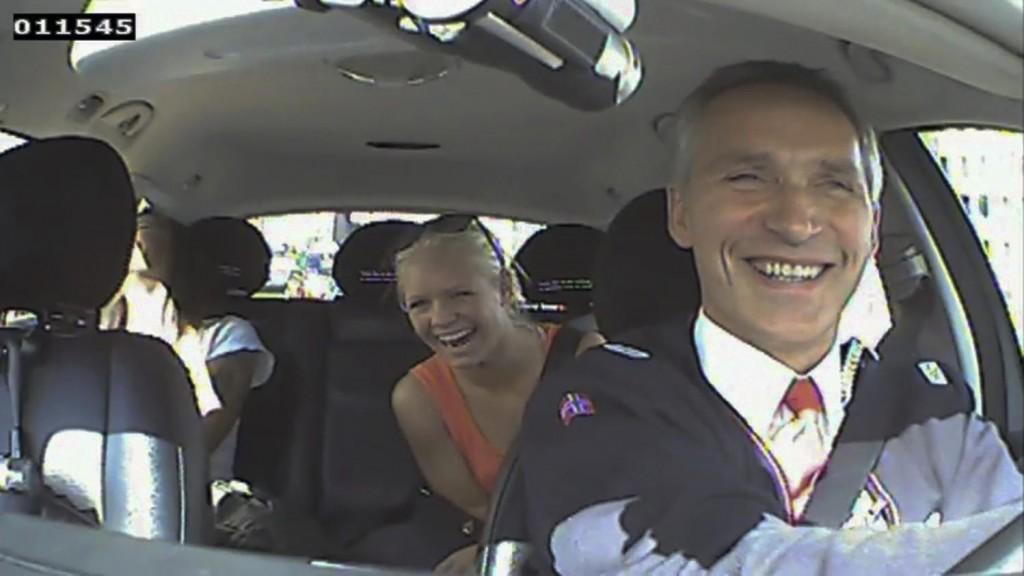 Lorsque le Premier Ministre norvégien joue les chauffeurs de taxi…