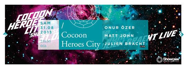 Gagnez 10×2 places pour la soirée COCOON HEROES au Showcase le 31.08
