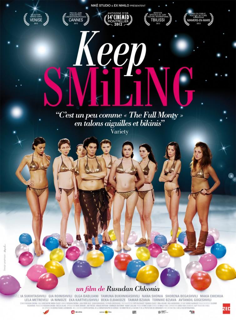 Gagnez 5×2 places et des affichettes du film «Keep Smiling» de Rusudan Chkonia