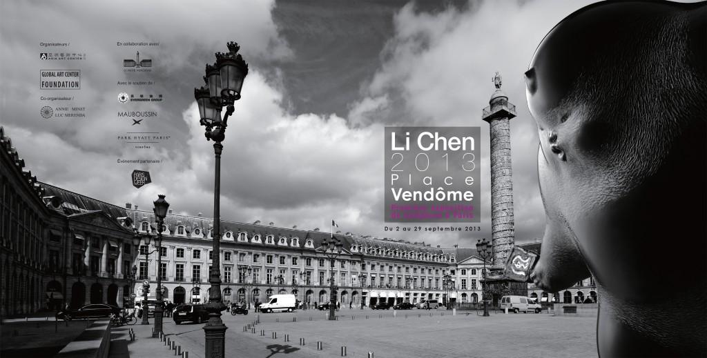 Les sculptures de Li Chen amènent un vent de spiritualité, Place Vendôme, du 2 au 29 septembre