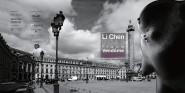 Li-chen affiche place vendôme Minet Merenda
