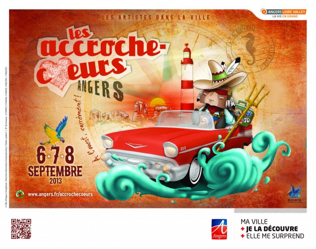 15èmes accroche-coeurs à Angers du 6 au 8 septembre