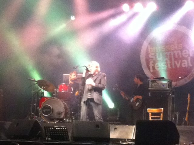 [LIVE-REPORT] : Arno au Brussels Summer Festival (17/08/2013)