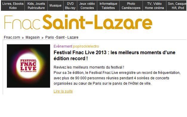 Fnac Saint-Lazare