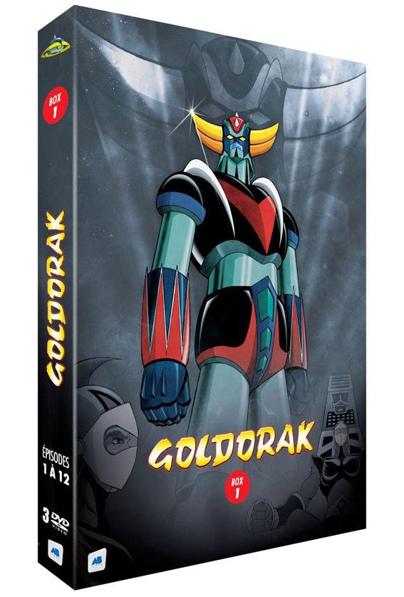 Dvd : Goldorak is back