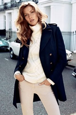 Gisèle Bündchen égérie de la rentrée chez H&M