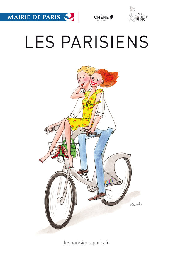 Les parisiens deviennent dessins tout l'été
