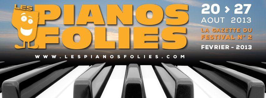 Festival Pianos Folies auTouquet-Paris-Plage, du 20 au 27 aout