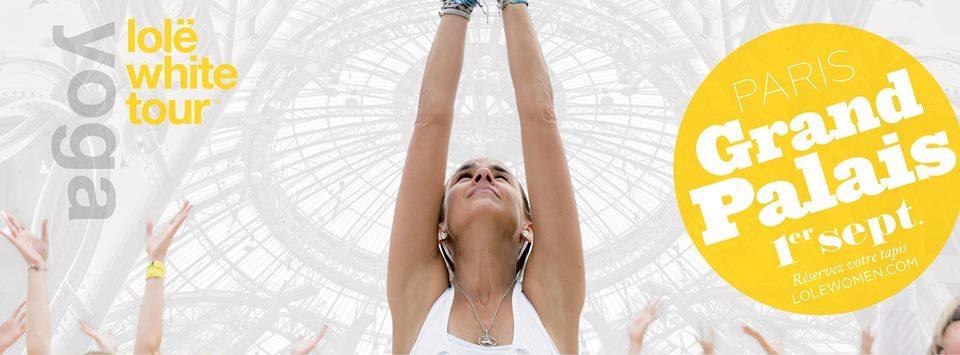 Lolë invite 4000 yogi à pratiquer au Grand Palais le 1er spetembre